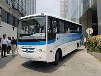 Ashok Leyland unveils India's first indigenous electric bus