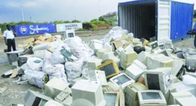 Disposal ground: India turns e-waste dumpyard