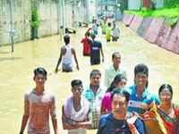 17 villages affected by flood in Bokota Mouza