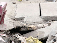 HC orders restoration of broken footpaths on a war footing