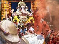 Ganesh Chaturthi: Day 1 of Visarjan makes loud noised