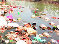 Hefty fine on dumping waste in Yamuna