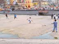 Godavari ghat in Nashik dries up after 139 years