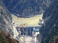 Himachal's mega hydro project to be commissioned this month