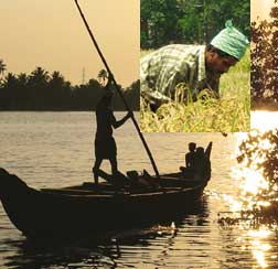 Kerala`s backwaters carry modern day brunt