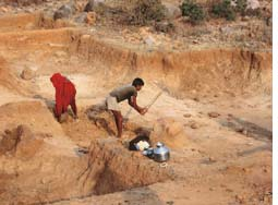 Central India in grip of worst ever drought