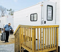 FEMA admits high formaldehyde levels in travel trailers