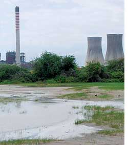 Villagers take on polluting plant