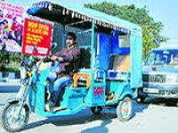 Ghaziabad's cycle rickshaws to be replaced with e-vehicles