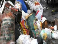 Plastic refuse piling up in Kochi