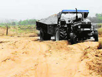 Sand mining goes unchecked in Kurnool