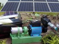 7,540 solar powered farm pumps to be distributed in state