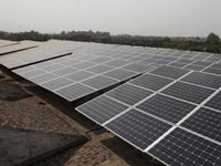 75 kw rooftop solar power plant at Vikas Bhawan