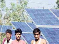 Village cooperative sets up first-ever solar power plant