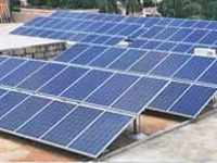 Solar panels at housing societies in Delhi