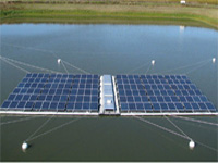 China starts generating power from floating solar power plant