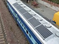 Rail Solar Panels can Save 11-cr litres Fuel