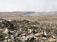 Toxins at waste site infect water