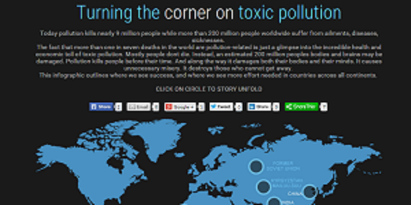 Turning the corner on toxic pollution