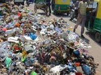 No respite from garbage stench
