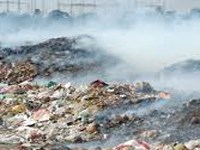 Burning of garbage goes on unabated